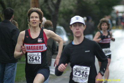 2004 Bazan Bay 5K - Wendy Davies ran without a watch for the first time ever!