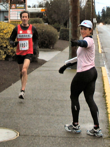2004 Boxing Day 10-mile Handicap - Sandy was close behind