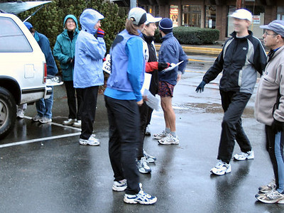 2004 Boxing Day 10-mile Handicap - Pre-race preparations
