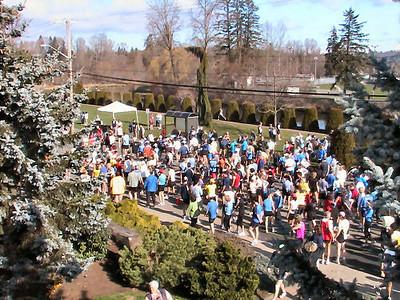 2004 Comox Valley Half Marathon - Pre-race