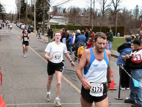 2004 Comox Valley Half Marathon - Mike