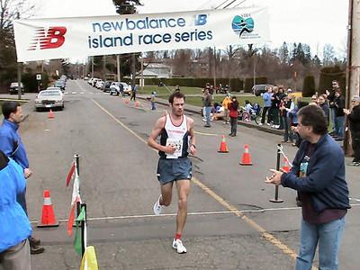 2004 Comox Valley Half Marathon - Finn Wins