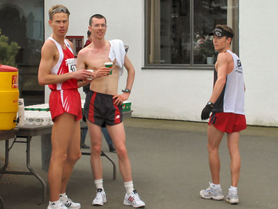 2004 Comox Valley Half Marathon - Holm, Matte & Campbell