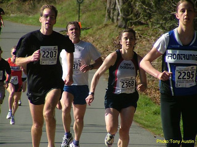 2004 Hatley Castle 8K - Jen Maclean and Kathy Rung, 2nd and 3rd F25