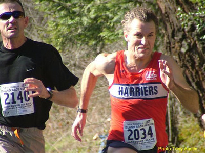 2004 Hatley Castle 8K - Dave Miller just edged Rui for 8th M40