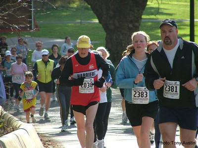 2004 Hatley Castle 8K - Jim at the bottom of the big hill