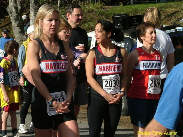 2004 Hatley Castle 8K - Karen Lawless, 2nd F45, Dee Ogden, 5th F35 and Adena Cronk