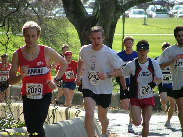 2004 Hatley Castle 8K - Steve Murenbeeld was 2nd overall for the 2nd race in a row