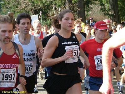 2004 Hatley Castle 8K - Carolyn Murray won the women's race