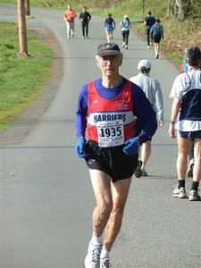 2004 Hatley Castle 8K - 70-74 age group winner Maurice Tarrant