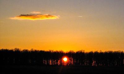 2004 Hortobagy Sunset with Elise