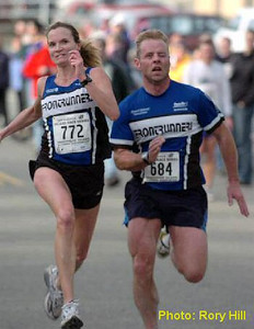 2004 Mill Bay 10K - Carla Dunn and Mike Jorgensen - 3
