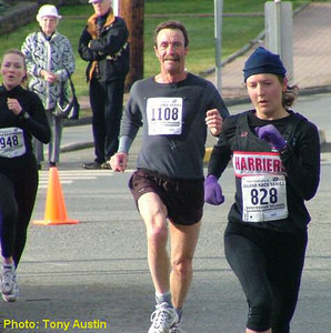 2004 Mill Bay 10K - Claire Townsend and Marilyn Arsenault went under 40 minutes for the first time ever!