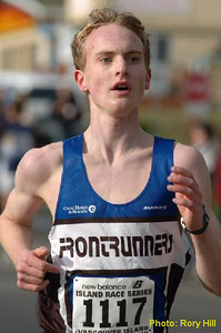 2004 Mill Bay 10K - Graeme Hill was 4th in a strong M1619 Age Group in 35:12
