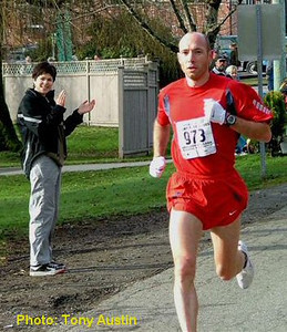 2004 Mill Bay 10K - Brown broke the course record by 30 seconds with a 29:41