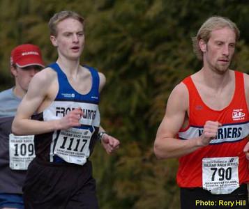 2004 Mill Bay 10K - Steve Murenbeeld and Graeme Hill