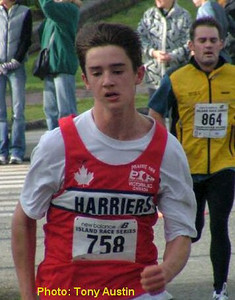 2004 Mill Bay 10K - Graeme Benn was 6th in the M1619 group