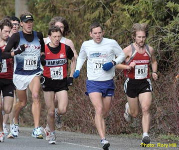2004 Mill Bay 10K - The battle for 2nd