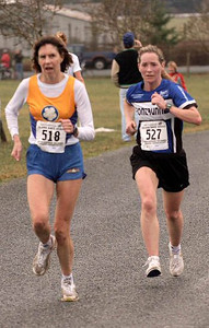 2004 Pioneer 8K - Rory Hill - Gwyn Woodson and Karen Fry at the finish