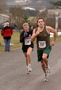 2004 Pioneer 8K - Rory Hill - Rhys McLean and third place overall Lise Wessels