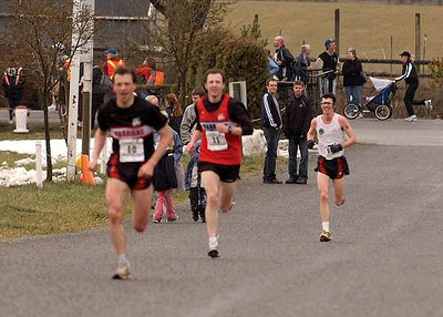 2004 Pioneer 8K - Rory Hill - Kelvin, Ian and Dave race up the evil final hill
