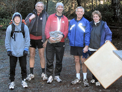 2004 Stewart Mountain XC - The North Course Marshaling Crew