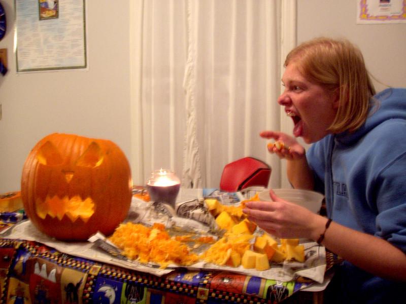 Rachel's Got Pumpkin Guts