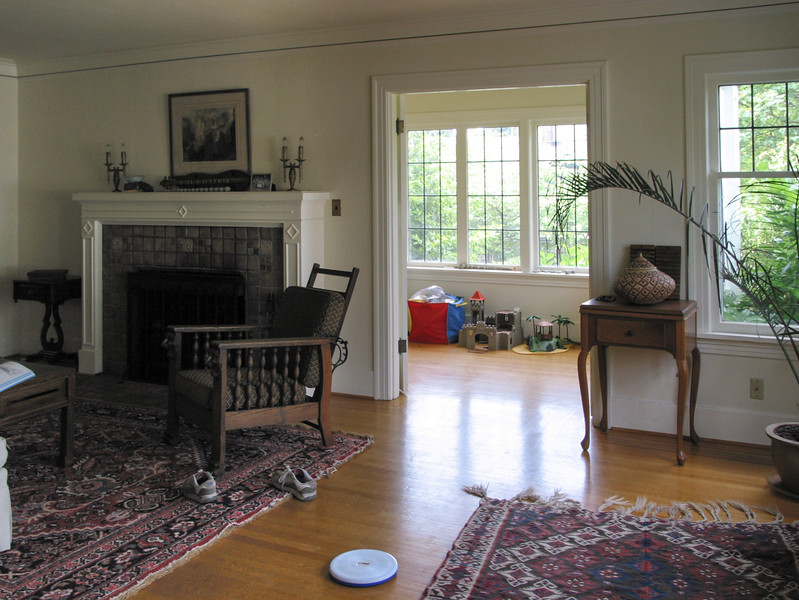 Ravenna house: living room