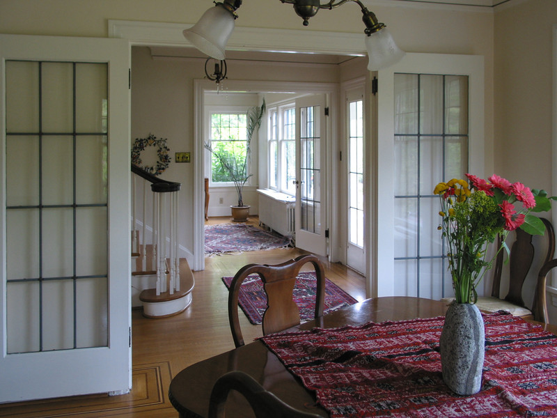 Ravenna house: front rooms