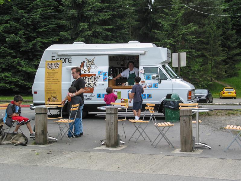 Green Lake: espresso truck