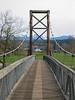 Pedestrian bridge, near Snoqualmie