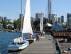 Center for Wooden Boats: view to the city