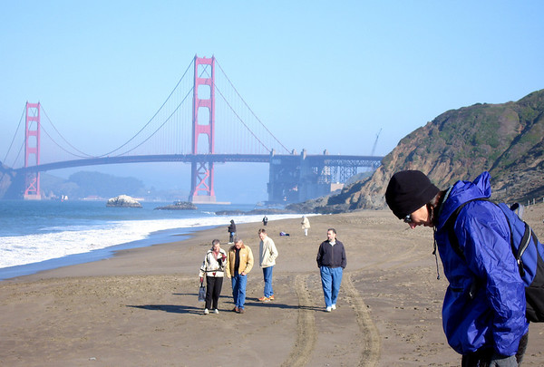 At Baker Beach With Noel
