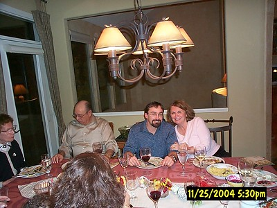 Bob And Gwen Thankgiving 2004 November