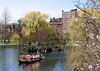 Swan boat in the public garden