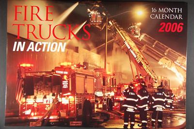 Fire Trucks in Action Calendar - 2006