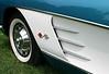 Late 50's Corvette, detail