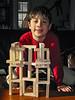 Benjamin and his blocks