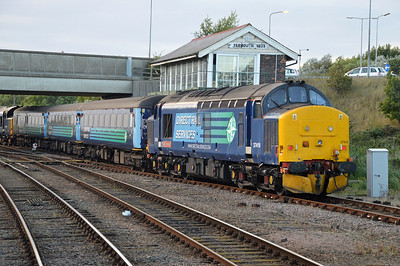 37419 seen arriving at Great Yarmouth from Norwich  09/09/16.