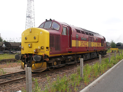 37422 'Cardiff Canton' at Mossend Sidings  12/06/07.