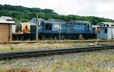 37077 at Tyne Yard  02/09/00.