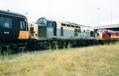 37351 at Thornaby Bull Ring Sidings  02/09/00.