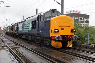 37218 1920/6M95 Dungeness-Brent through Mitre Bridge Jct. 20/06/11