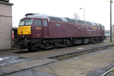 47237 at Southall Steam Centre 13/02/12
