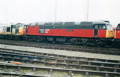 47770 'Reserved' at Cardiff Canton TMD 10/02/01.