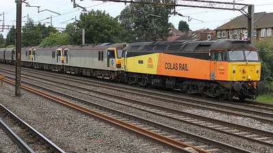 47749 1942/6z92 Crewe IEMD-Dollands Moor with 92033, 92006 and 92018 passing South Kenton 13/07/11