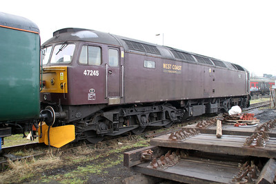 47245 at Southall Steam Centre 13/02/12