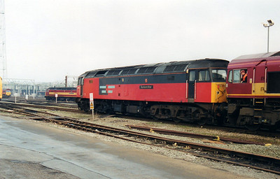 47733 'Eastern Star' at Crewe Holding Sidings  12/01/01.
