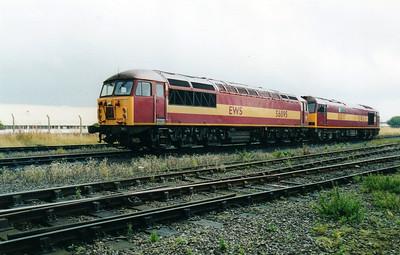56095 at Immingham TMD 02/09/00.