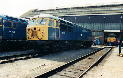 56004 at Old Oak Common Open Day 05/08/00.